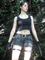 Lara Croft by Tarulein