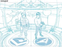 StarTrek Legion 1 Pencils by GabrielRodriguez
