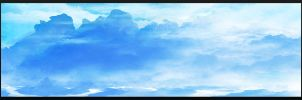 Speedpainting: Blue Mountains by N-Deed