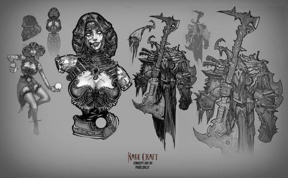 Concept for miniatures2 by PabelBilly