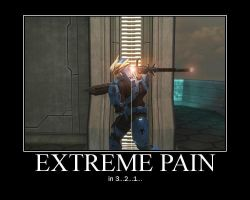 Extreme Pain by InhumanFrog