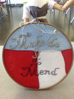 Make Do and Mend by EmbroideryMW101