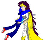 Sonic and Queen Aleena by s0ph14luvukn0w