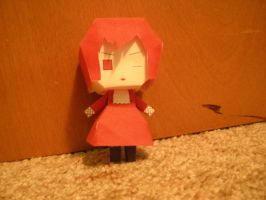 Madam Red Papercraft by DuckHunter111