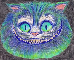 Cheshire cat by ladyjart