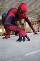 spiderman cosplay by Elix-manga