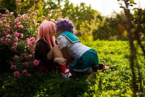 Revolutionary Girl Utena cosplay by Deadelmale