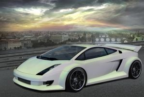 "Lamborgini Gallardo ""dream"" by themjdesign"
