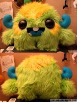 Big-Eyed Monster by loveandasandwich
