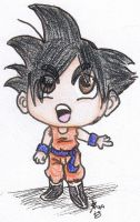Lil' Goku by Smashley-XD