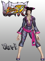 USFIV Juri Han 3p Outfit for XPS by KSE25