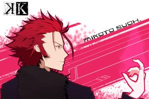Mikoto Suoh by LifeOnTheEdge