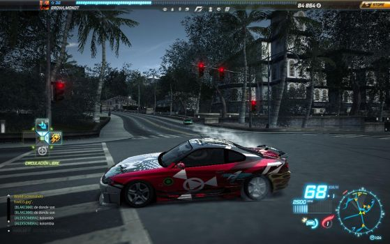 GULMON CAR IN NEED FOR SPEED WORLD TUNING by davidgtm3