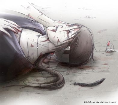 Itachi's death.... by Kibbitzer
