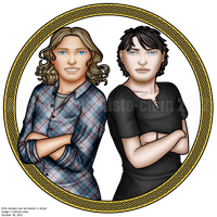 Eirik and Jal by callisto-chan