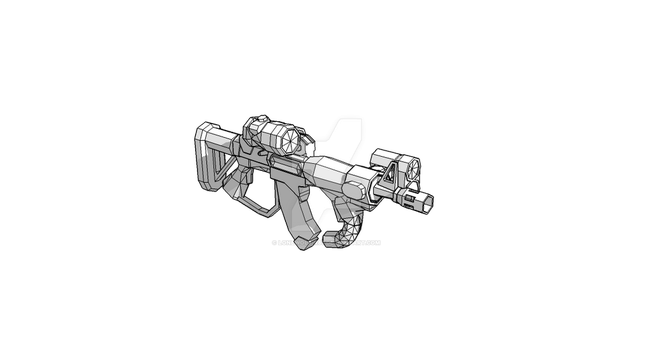 FE12A2 Combat Rifle (Firefly) WIP by lonewolf-R87