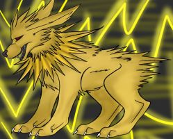 Jolteon by XxDamianxCrossxX