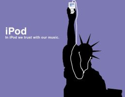 My iPod ad 5 by NolGeo