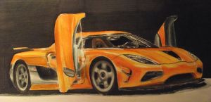 Koenigsegg Agera R by And300ZX