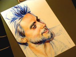 Jared Leto - Mixed up WIP by shvau4