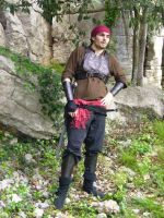 Rogue leather armour by Bear-Crafter