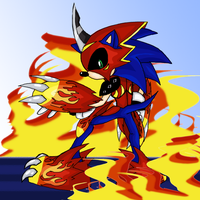 Request: Sonic of the FLAMES by Doodlz18