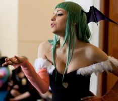 +Morrigan Aensland Cosplay by WinterSecrets