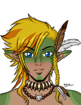 Elros The Wild Elf by Melonie-Moon