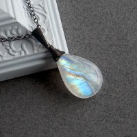 Moon Drop Pendant by Gweyeni