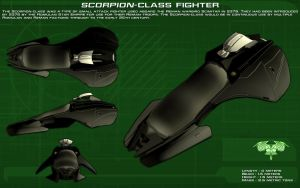 Scorpion class fighter ortho [New] by unusualsuspex