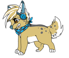 custom adopt for wolfradio by P0CKYY