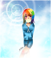 Rainbow Dash by SapphireShine