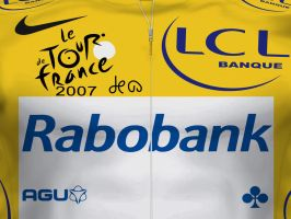 Yellow jersey rabobank by P3P70
