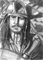 Captain Jack Sparrow by JediSeeker1