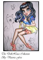 Unfinished Snow White Sketch by ToriaFox