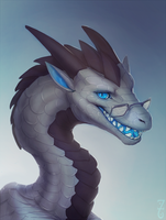 Solari Bust Commission by Zyraxus