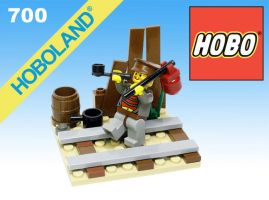 LEGO HOBO by gloriouskyle