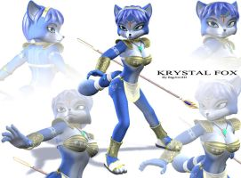 Adventures Krystal Fox by Bigjim3D