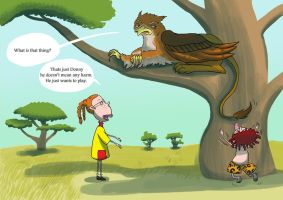 The Wild Thornberrys - Griffin by DynastyCoco