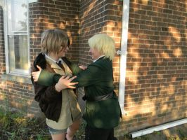 England's run and hide adventure! part 2 by okamixcosplayer