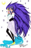 Tsukabu- Purple Angel by Evilness321