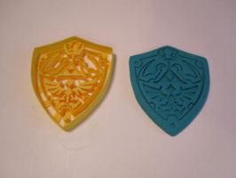 Hylian Shield Cookie Cutter 01 by B2Squared
