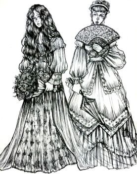 Victorian Lady Designs by maowka