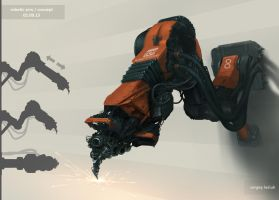 Robotic Arm by Sergey-Lesiuk