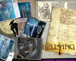 Hellsing OVA1 Wallpaper by gothiclass