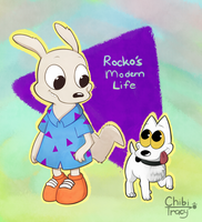 [Nostalgi-toons] Rocko's Modern Life by chibitracydoodles