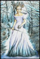 The White Witch by redderz