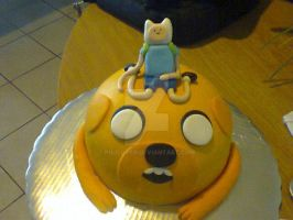 Adventure Time Cake by PnJLover