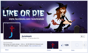 Junoteam Facebook Cover by junoteamvn