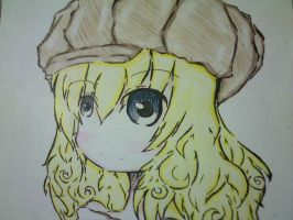 unfinished coloring xD by Hana-Miketsukami